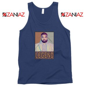 Drake Legend Navy Blue Tank Top