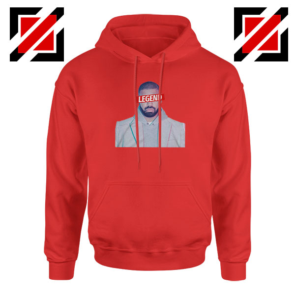 Drake Legend OVO Red Hoodie