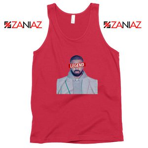 Drake Legend OVO Red Tank Top