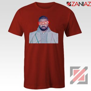 Drake Legend OVO Red Tshirt