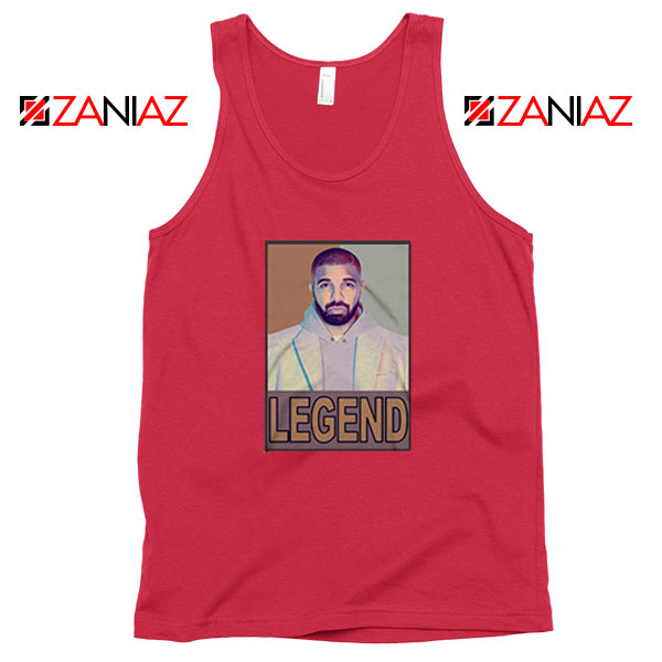 Drake Legend Red Tank Top