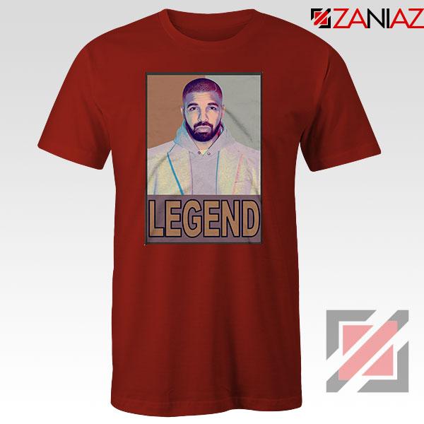 Drake Legend Red Tshirt