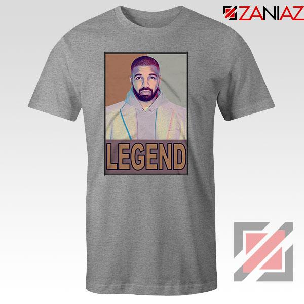 Drake Legend Sport Grey Tshirt