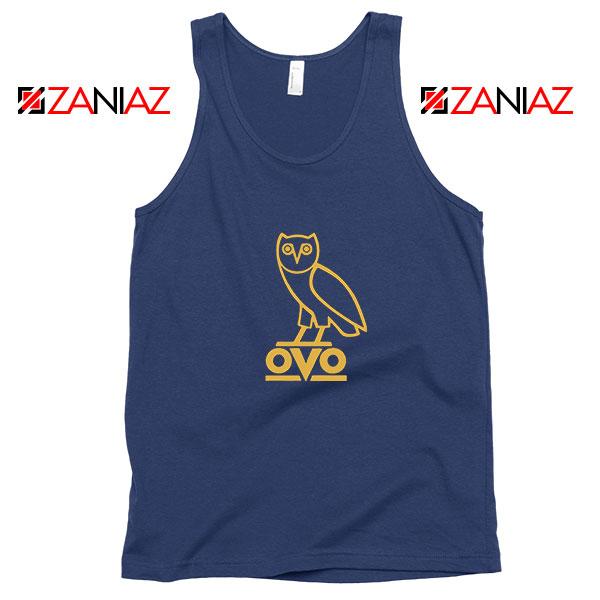 Drake OVO Navy Blue Tank Top
