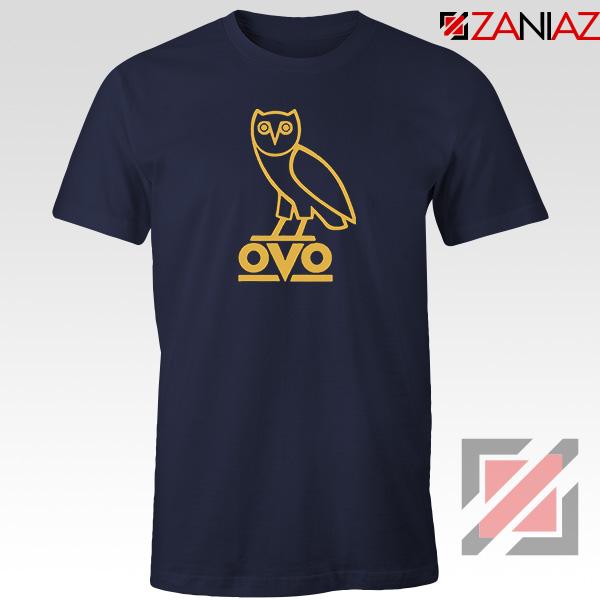 Drake OVO Navy Blue Tshirt