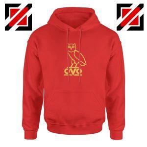 Drake OVO Red Hoodie