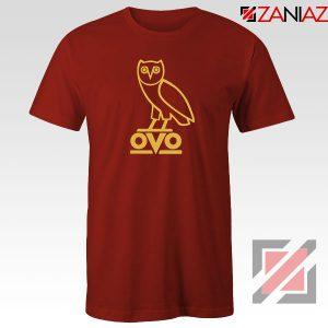 Drake OVO Red Tshirt