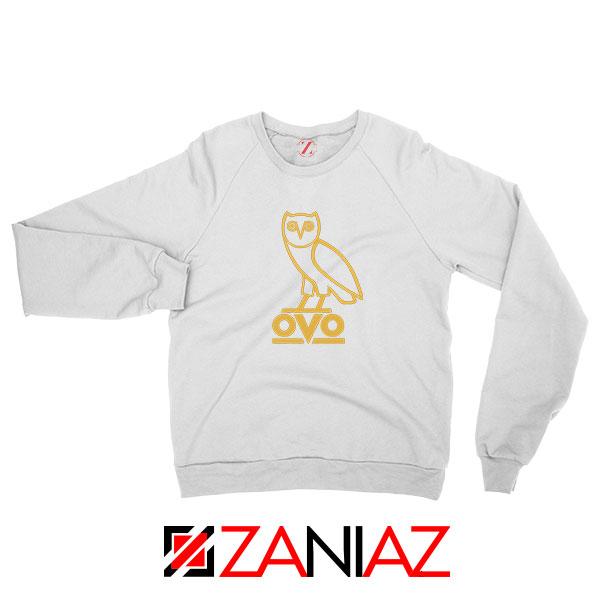 Drake OVO White Sweatshirt