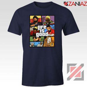 Drake The Future Navy Blue Tshirt