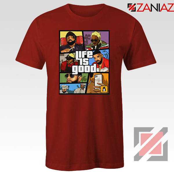 Drake The Future Red Tshirt