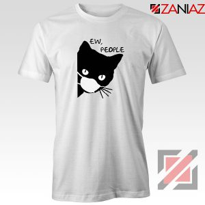 Ew People Cat Face Mask Tshirt