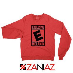 Exclusive Melanin Red Sweatshirt