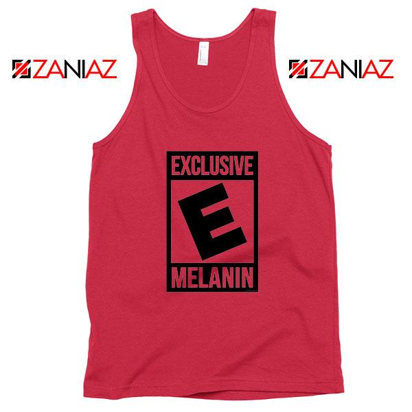 Exclusive Melanin Red Tank Top