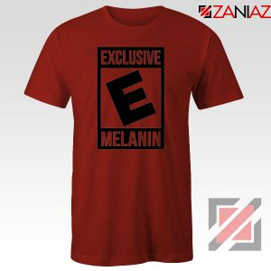 Exclusive Melanin Red Tshirt
