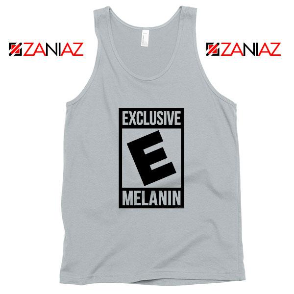Exclusive Melanin Sport Grey Tank Top