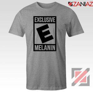Exclusive Melanin Sport Grey Tshirt