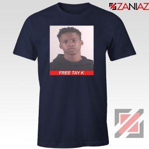 Free Tay K Navy Blue Tshirt