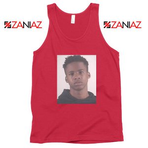 Free Tay K Rapper Red Tank Top