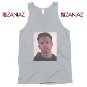 Free Tay K Rapper Sport Grey Tank Top
