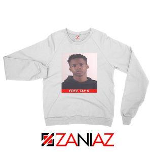 Free Tay K White Sweatshirt