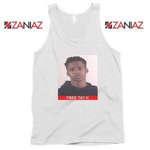 Free Tay K White Tank Top