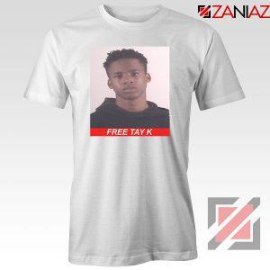 Free Tay K White Tshirt