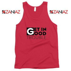 Get in Trouble Red Tank Top