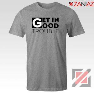 Get in Trouble Sport Grey Tshirt