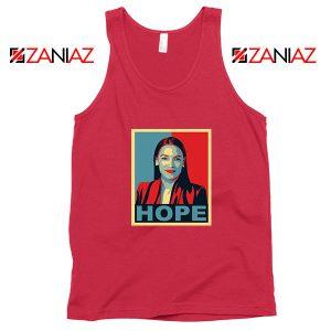 Hope Alexandria Ocasio Cortez Red Tank Top