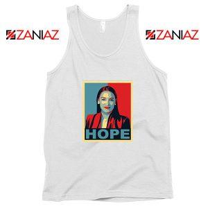 Hope Alexandria Ocasio Cortez White Tank Top