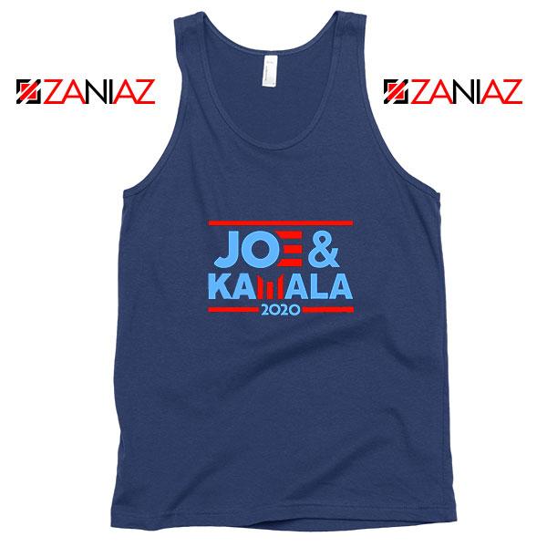 Joe And Kamala 2020 Navy Blue Tank Top