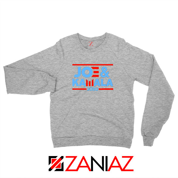 Joe And Kamala 2020 Sport Grey Sweatshirt