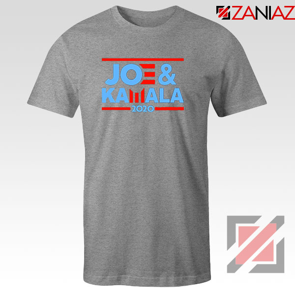 Joe And Kamala 2020 Sport Grey Tshirt