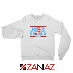 Joe And Kamala 2020 White Sweatshirt