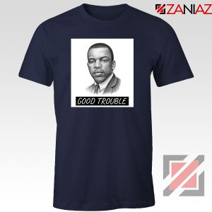 John Lewis Quotes Navy Blue Tshirt