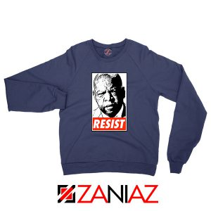 John Lewis Resist Navy Blue Sweatshirt