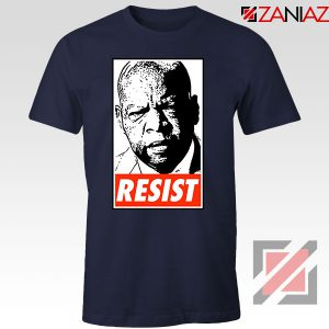 John Lewis Resist Navy Blue Tshirt
