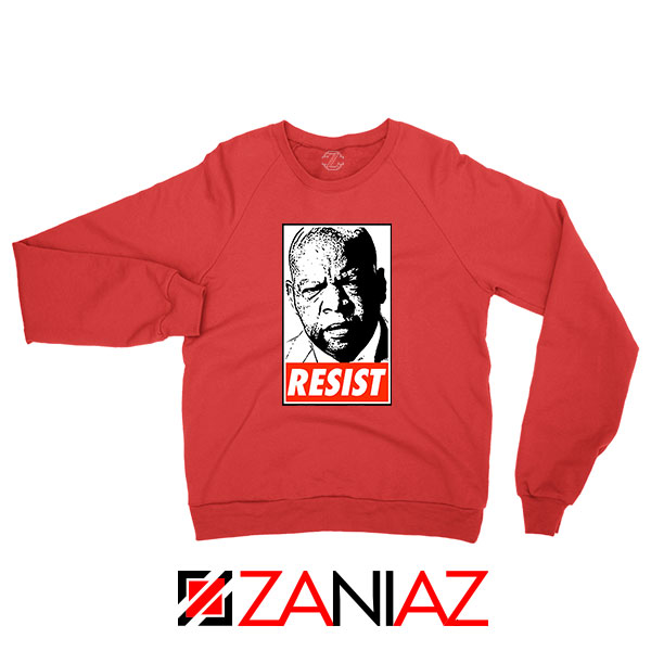 John Lewis Resist Red Sweatshirt