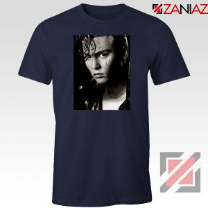 Johnny Depp Cry Baby Navy Blue Tshirt