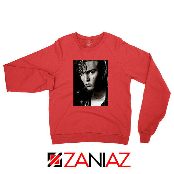Johnny Depp Cry Baby Red Sweatshirt