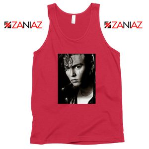 Johnny Depp Cry Baby Red Tank Top