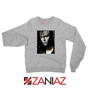 Johnny Depp Cry Baby Sport Grey Sweatshirt