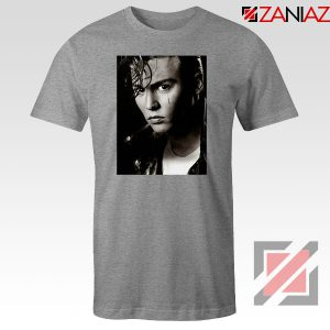 Johnny Depp Cry Baby Sport Grey Tshirt