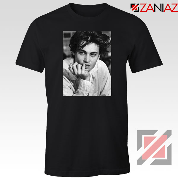 Johnny Jack Sparrow Black Tshirt