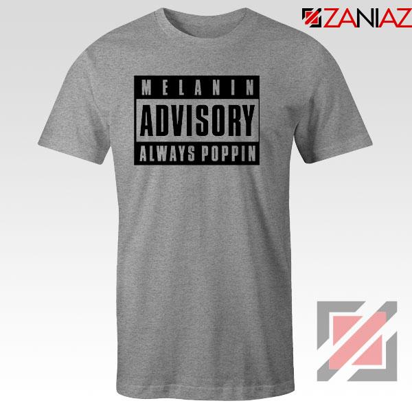 Melanin Advisory Sport Grey Tshirt