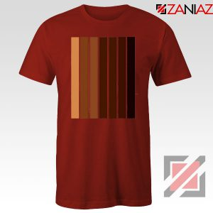 Melanin Black Lives Matter Red Tshirt