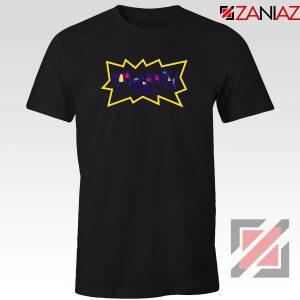 Melanin Rugrats Logo Black Tshirt