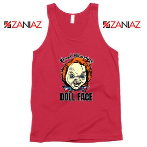 Morning Doll Face Red Tank Top
