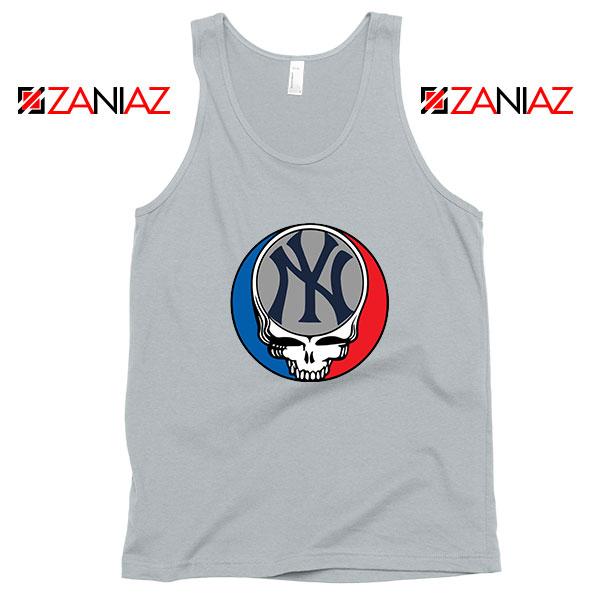 NY Yankees Grateful Dead Sport Grey Tank Top
