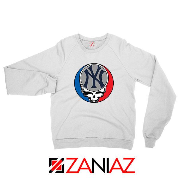 NY Yankees Grateful Dead Sweatshirt